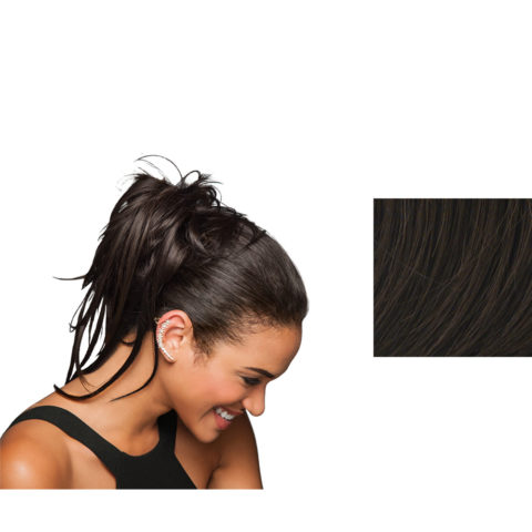 Hairdo Trendy Do Élastique Cheveux Cheveux bruns moyens