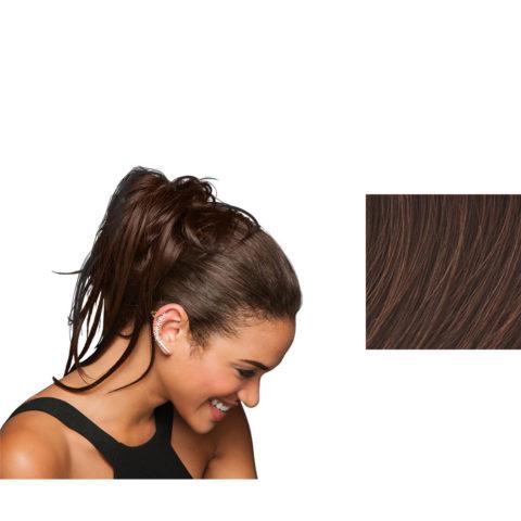 Hairdo Trendy Do Élastique Cheveux Brun Auburn Moyen