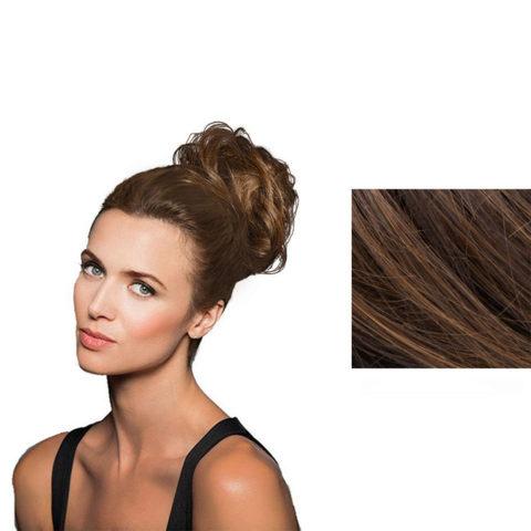 Hairdo Fancy Do Élastique Cheveux Cheveux Blond doré moyen avec stries