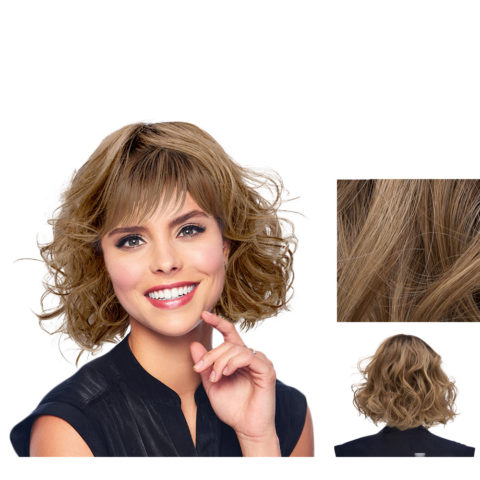 Hairdo Flirty Waves Perruque Blond chaud avec racine brune