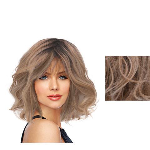 Hairdo On The Edge Perruque blonde claire avec racine brune