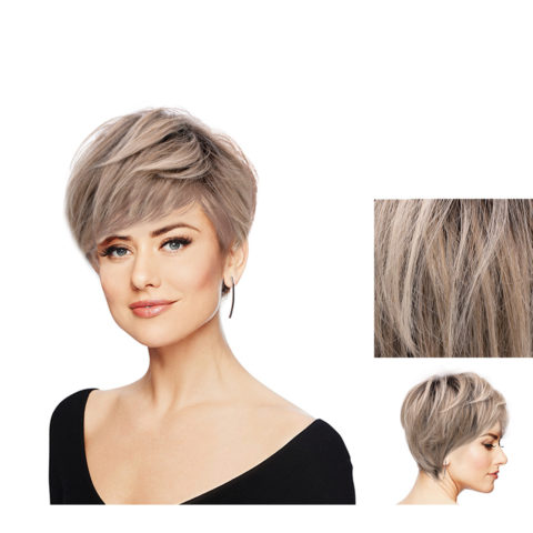 Hairdo Perfect Pixie Blond clair cendré avec racine brune