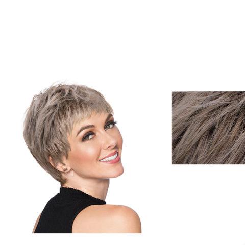 Hairdo Textured Cut Perruque blonde cendrée claire avec racine brune