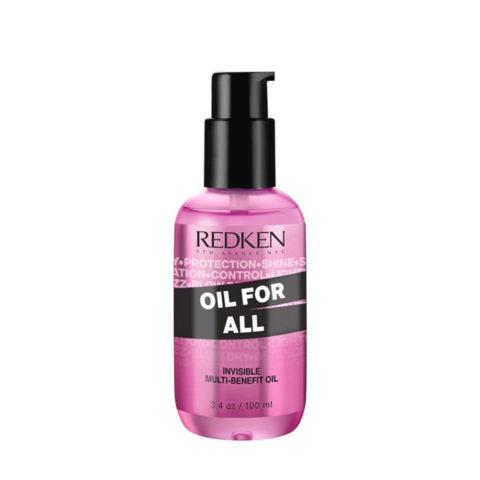 Redken Oil For All Huile multi-bienfaisante pour tous types de cheveux 100ml