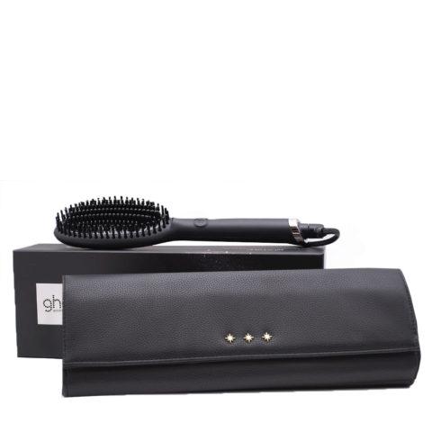 GHD Glide Hot Brush Gift Kit Brosse Chauffante Plate Avec Pochette
