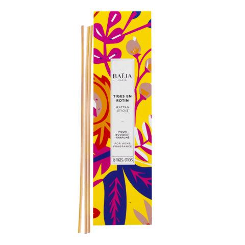 Baija Paris 16 bâtonnets de rechange pour parfums d'ambiance