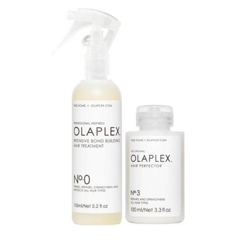 Olaplex Pre Shampoo Treatment Set pour Réparer les Cheveux Abîmés