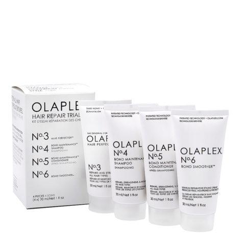 Olaplex Coffret De Recontruction Complet Pour Cheveux Abimés Et Crépus