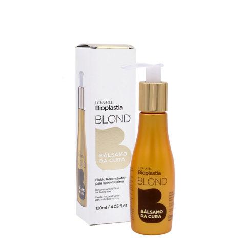 Lowell Bioplastia Fluide réparateur pour cheveux blonds et abîmés 120 ml
