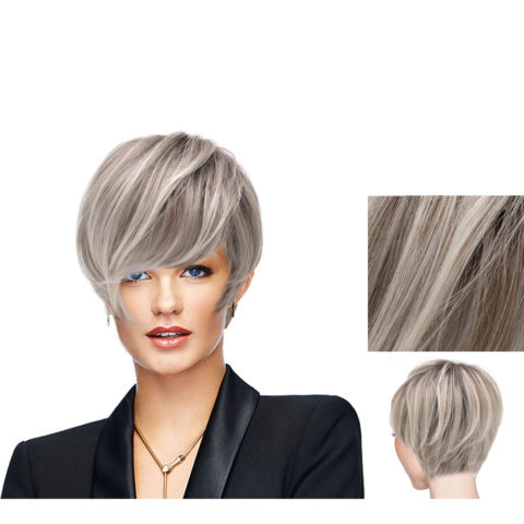 Hairdo Angled Cut perruque Blond clair cendré