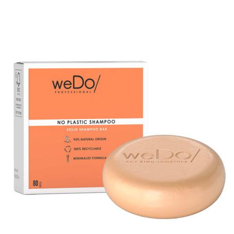 weDo No Plastic Shampooing solide pour tous types de cheveux 80gr