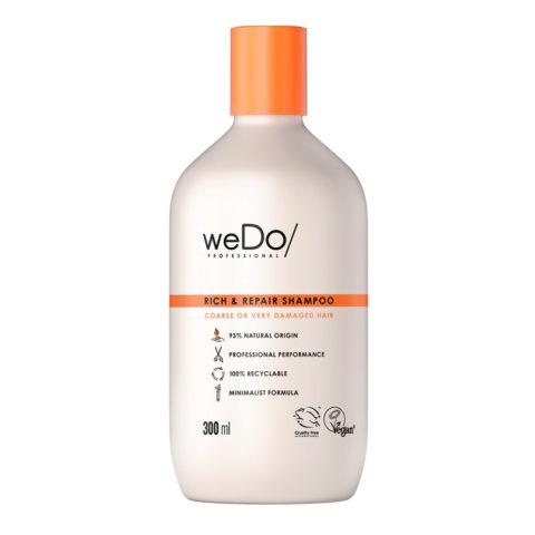 weDo Rich & Repair Shampooing sans sulfate pour cheveux crépus très abîmés 300ml