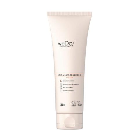 weDo Light & Soft Conditioner Hydratant Pour Les Cheveux Fins 250ml