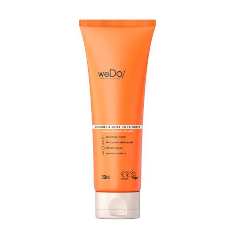 weDo Moisture & Shine Après Shampooing Hydratant Pour Cheveux Normaux Et Abîmés 250ml