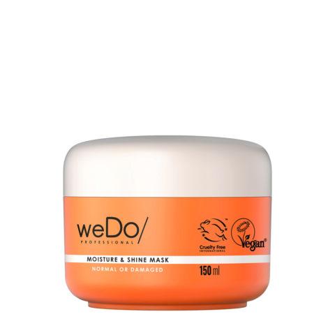 weDo Moisture & Shine Masque hydratant pour cheveux normaux ou abîmés 150ml