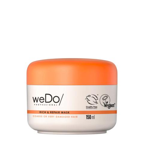 weDo Rich & Repair Masque nourrissant pour cheveux crépus ou très abîmés 150ml
