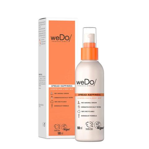 weDo Spread Happiness Spray parfumé pour les cheveux et le corps 100ml