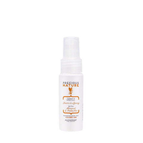 Alfaparf Precious Nature Leave-In Spray With Almond & Pistachio For Colored Hair 30ml - Apres Shampooing Sans RinçAge