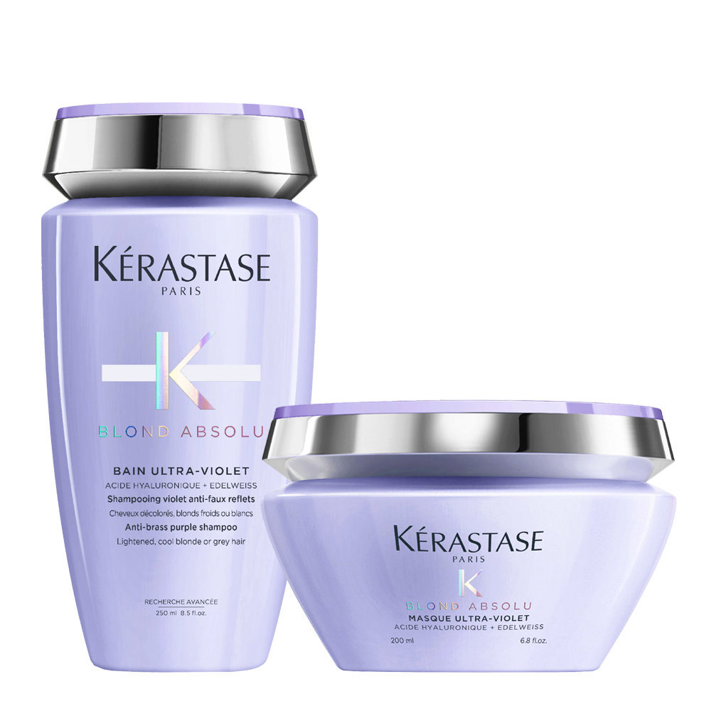 Kerastase Blond absolu Kit Bain ultra violet 250ml Masque 200ml
