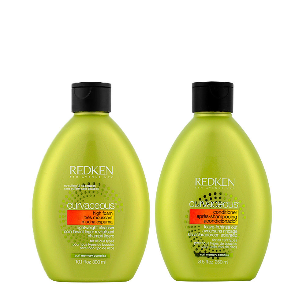 Redken Curvaceous Shampooing 300ml et Apres Shampooing 250ml