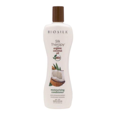 Biosilk Silk Therapy With Coconut Oil Baume Hydratant 355ml