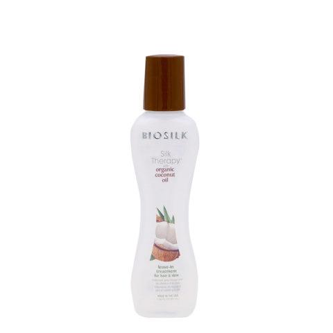 Biosilk Silk Therapy Coconut Oil sérum sans rinçage pour le corps et les cheveux 67ml