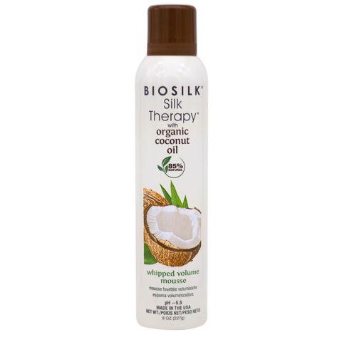 Biosilk Silk Therapy With Coconut Oil Mousse Hydratante Volumisante 227gr