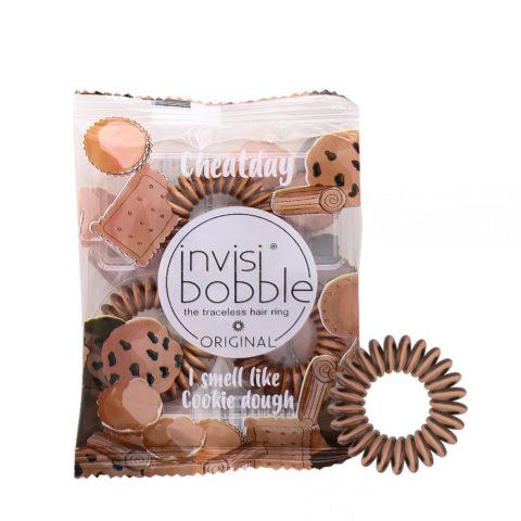 Invisibobble Cheatday Bande de cheveux parfumée biscuit
