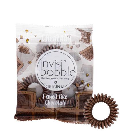 Invisibobble Cheatday élastique pour cheveux parfumé au chocolat noir
