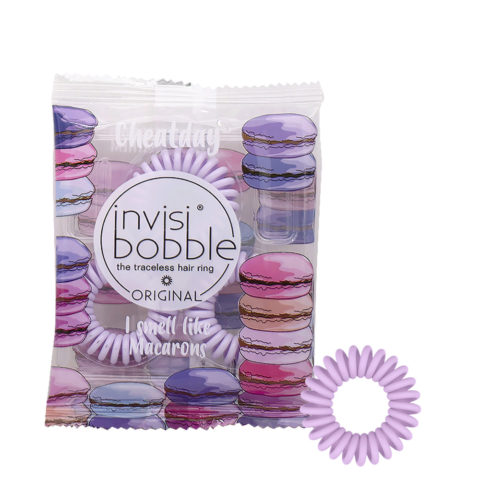 Invisibobble Cheatday Elastique capillaire parfumé Macaron