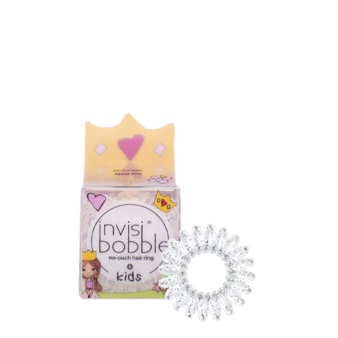 Invisibobble Kids Élastique transparent pour cheveux de bébé avec paillettes