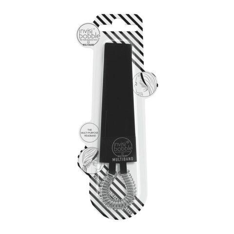 Invisibobble Multiband Bande de cheveux noire
