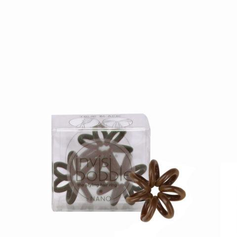 Invisibobble Nano mini élastique à cheveux marron