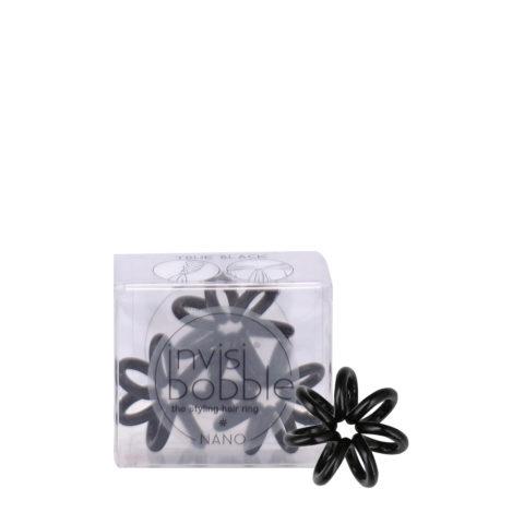 Invisibobble Nano mini élastique à cheveux noir