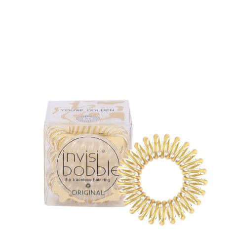 Invisibobble Original élastique pour cheveux or