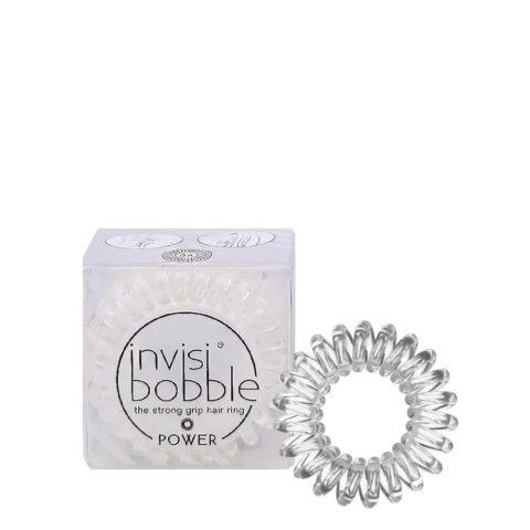 Invisibobble Power élastique Transparent pour cheveux épais