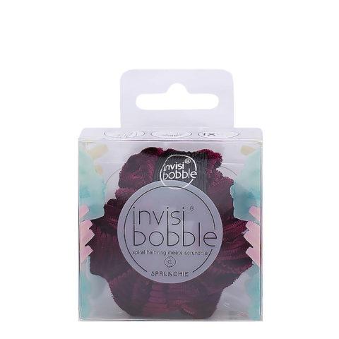 Invisibobble Sprunchie élastique pour cheveux vintage en velours rose