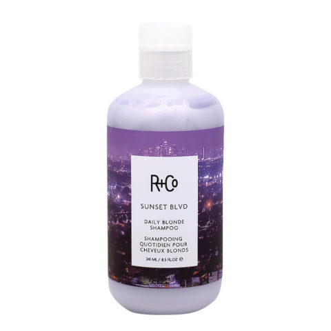 R   Co Sunset Blvd Shampooing pour Cheveux Blonds 241ml
