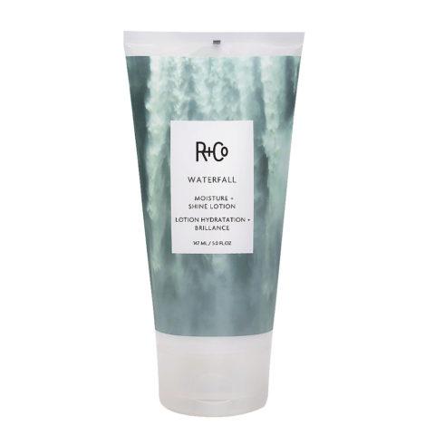 R   Co Waterfall Moisture   Shine Lotion Crème hydratante légère 147ml