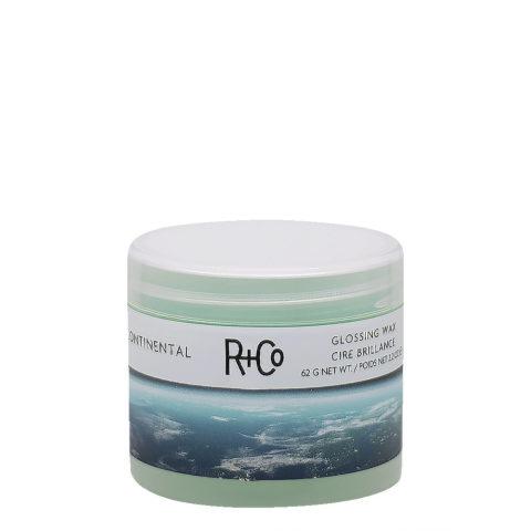 R+Co Continental Glossing Wax Cire à polir à tenue légère 62gr