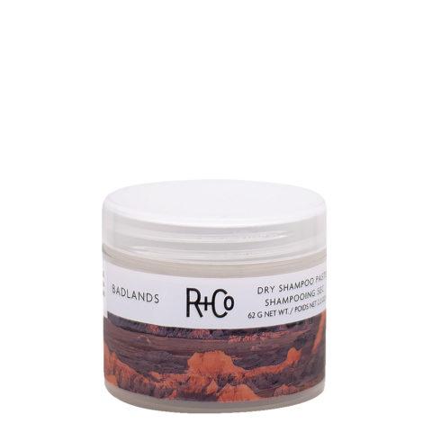 R   Co Badlands Dry Shampoo Pâte de shampoing sec 62gr