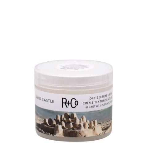 R   Co Sand Castle Dry Texture Crème pour les cheveux de plage 62gr