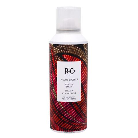 R   Co Neon Lights Dry Oil Spray -Spray d'Huile éclairante Sèche 162ml