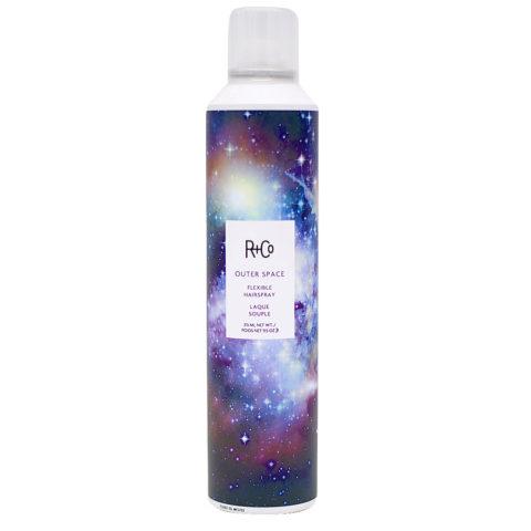 R   Co Outer Space Flexible Hairspray Laque à Tenue Flexible 315ml