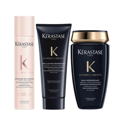 Kerastase Fresh Affair + Chronologiste Set de régénération capillaire
