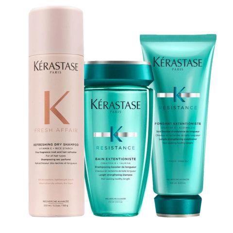 Kerastase Fresh Affair + Extentioniste Set pour cheveux longs et sensibilisés