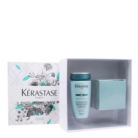 Kerastase Resistance Coffret Cadeau pour Cheveux Abîmés
