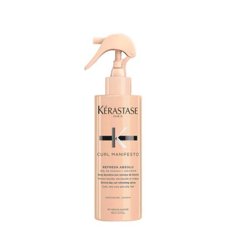 Kerastase Curl Manifesto Refresh Absolu 190ml - spray définition bouclés