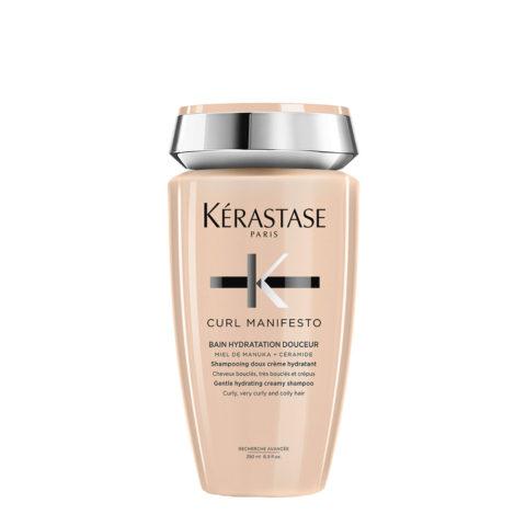 Kerastase Curl Manifesto Bain Doux Hydratant 250ml - pour cheveux bouclés