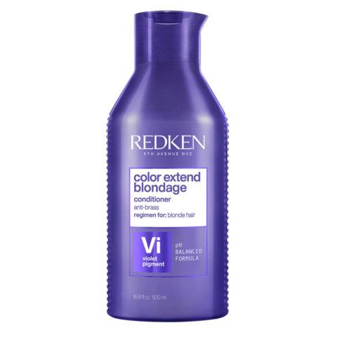 Redken Color Extend Blondage Format spécial 500ml - Après - Shampooing anti-jaune